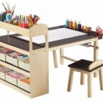 Children's table for creativity
