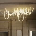 "LED-chandelier ""Ropes"""