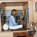 The tiny New York apartment with an unusual library