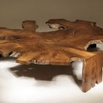Unusual furniture from roots and driftwood