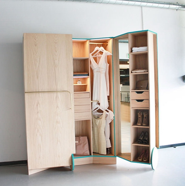 Ideas For Home Garden Bedroom Kitchen: Convenient Cabinet – Wardrobe From Hosun Ching