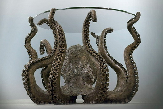 Mysterious Octopus Table In The Style Of Steampunk Ideas For Home Garden Bedroom Kitchen Homeideasmag Com