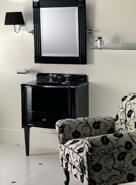 1-Dressing table in dark colors