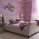 Lavender color in the interior