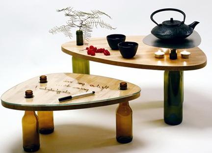 1-furniture made of bottles