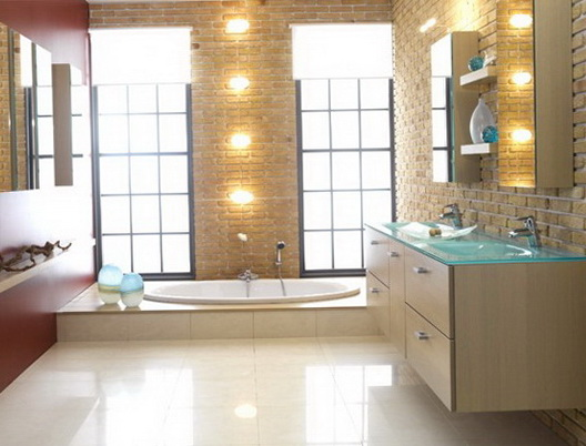 Modern and beautiful bathrooms ideas for home garden for Beautiful bathrooms