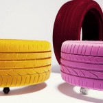 Table-tire from Tavomatico studio