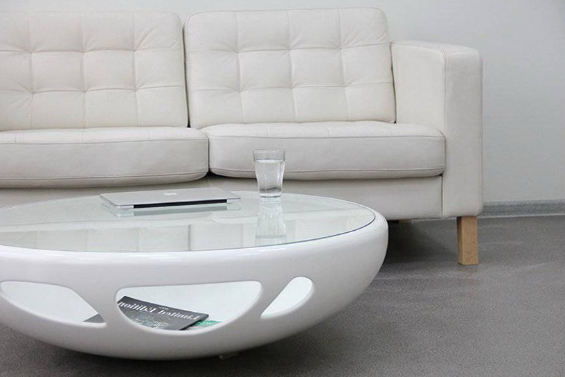 White coffee table with glass top ideas for home garden for White and glass coffee table