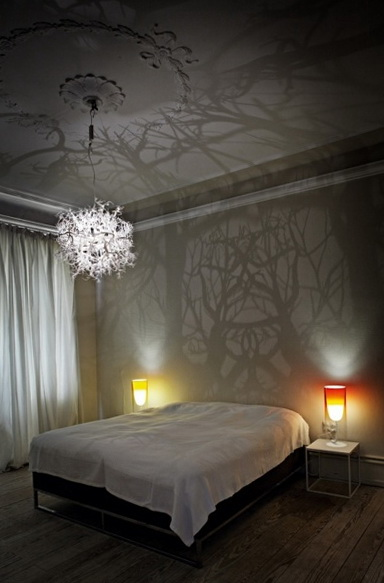 Chandelier Lays Aside The Interesting Shadow Ideas For
