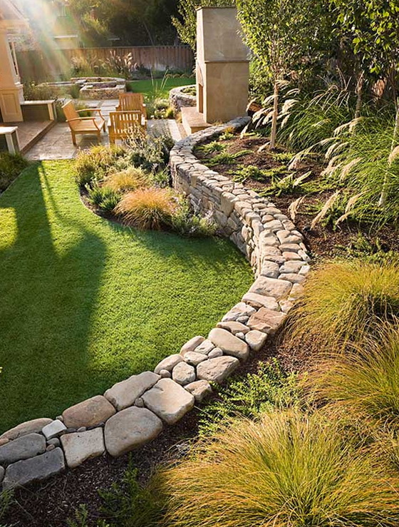 Making great landscape design and garden plots ideas for for Garden design ideas hill