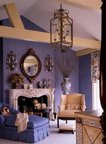 Lavender Color In The Interior Ideas For Home Garden