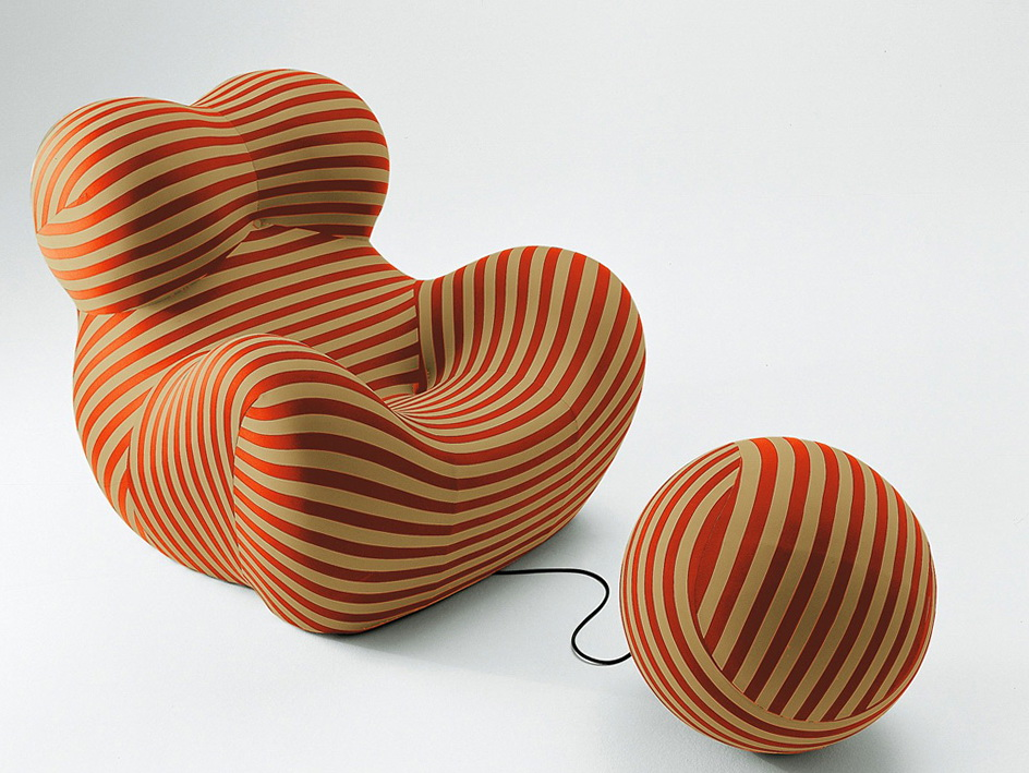 Zingy Chair By Designer Gaetano Pesce Ideas For Home Garden Bedroom Kitchen Homeideasmag Com