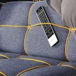 Unusual sofa Bungy from Leila Diamonds