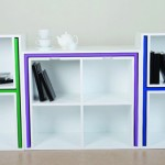 Smart Storage Idea: Table and Chairs Fit on the Shelf