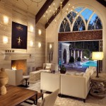 Modern-Gothic House with Cool Wine Cellar