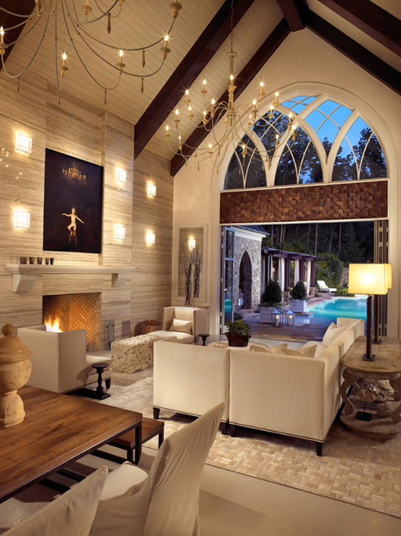 1-modern-gothic-house-cool-wine-cellar