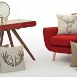 Cushions Showing Christmas Motifs