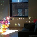 Laser Beam Sparkle Palace Table by John Foster