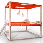 Oversized Hammock Bed by Stal Collectief