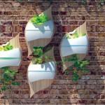 Stylish Leaf hydroponic system