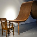 Undulating Dining Table by Michael Beitz