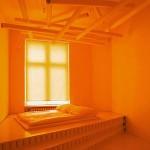 Orange in the interior