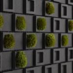 """Creative wall ceramics """"Dent Cube"""""""