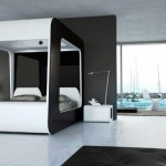 """Luxurious bed """"cocoon"""" of HiCan"""