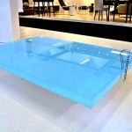 Pool at the coffee table
