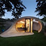 Shoffice (shed + office) - wooden mini office of British Architects