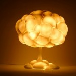 Table Lamp Mushroom Lamp - «light» appeal of Japanese designers