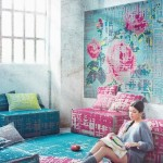 Romantic collection of carpets and cushions