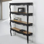 Bookshelves of the table