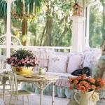 Garnish with a summer terrace