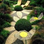Cheerful garden