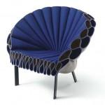 Chair of felt