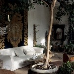 Baroque style in the living room