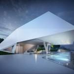 Beautiful white villa