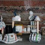 Inflatable furniture and crockery Bojaki