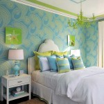 Bedroom design in a marine style