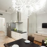 Apartment for Krestovsky with classic designs