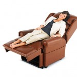 Stylish leather riser recliner chairs