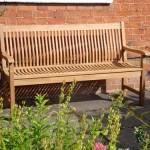 Bench in your garden.