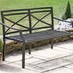 Metal Garden Bench.