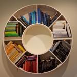 Interesting shelves for books