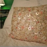 We sew a cushion themselves