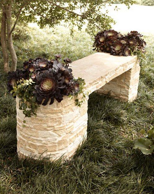1-stone-benches-garden