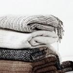 Warm textiles in interior