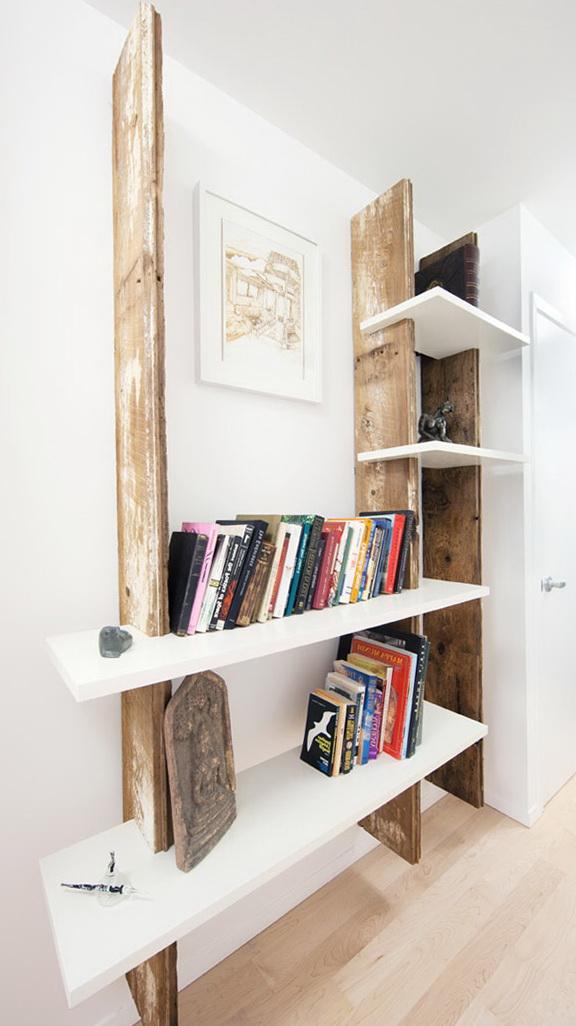 1-Wooden shelf hand-made