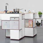 Super-compact and ergonomic kitchens